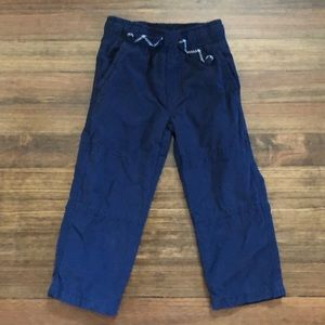 Gymboree Jersey-Lined Khaki Pants (2T)